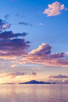 amazing !! sunset pastell sky lake