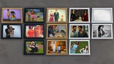 """kiwisims4: """" Gregor Set - Part OneAlright after a few days work , I finally have finished part one of this set ….. Photo Frame Clutter . This is something that I personally feel has been lacking in my..."""