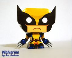 Mini Papercraft: Wolverine