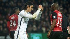 Marco Verratti, Edinson Cavani battle hard but dismal PSG lose at Guingamp