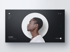 Designer Profiles — Part 3 landing page / home page