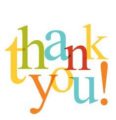 Gratitude Thank You Clip Art | Blog O' Gratitude: This THANK YOU is for you.