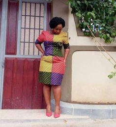 Best African WOMEN DRESSES 2019 • stylish f9 African Dresses For Women, African Print Dresses, African Wear, African Fashion Dresses, African Women, African Design, Dresses For Work, Stylish, How To Wear