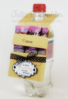 Drink Pouch Tutorial (Treats with a Drink)    gift & packaging idea