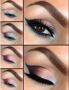 Eye Makeup - Les 50 plus beaux maquillages Plus - Health & Beauty, Makeup, Eyes Makeup Goals, Love Makeup, Makeup Inspo, Makeup Inspiration, Easy Makeup, Makeup Style, Pretty Makeup, Applying Eye Makeup, Smokey Eye Makeup