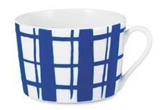 Designed by Emma von Bromssen for House of Rym the new Hip to be Square Blue porcelain cups are now at Northlight