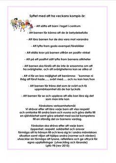 Mariaslekrum - Metoder och ideér.