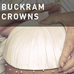 Hat Classes: Buckram & Fabric #millinery #judithm #blocking
