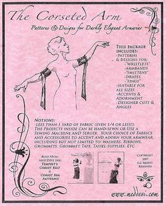 Artemis Imports - Belly Dance Store - Tempest's Corseted Arm Pattern