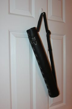 Archery Quiver, Hunger Games Inspired Real, Working Faux Leather Quiver, Arrow Holder for Archery, Katniss or Gale Inspired Quiver