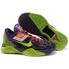 hot sale online 659a9 008a1 Air Foamposite Nike Zoom Kobe 7 GS Cheetah Violet Pop Volt Ink Action Red  Nike  Zoom Kobe 7 - Undoubtedly the flashiest and most vibrant Nike Zoom Kobe VII  ...
