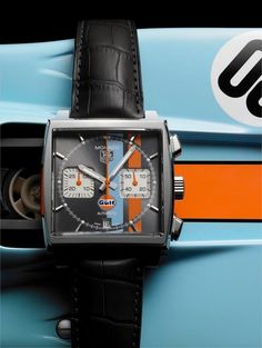 The Steve McQueen Monaco Tribute Watch