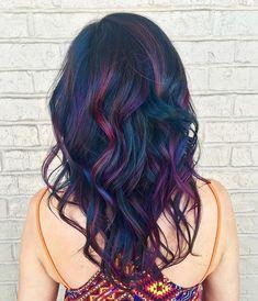 Oil slick hair color                                                                                                                                                                                 More