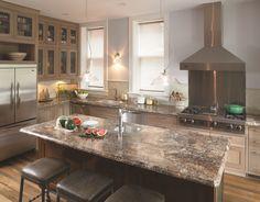 3466 - Antique Mascarello #interiordesign #kitchen #countertop