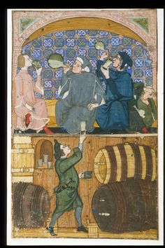The British Library, Cocharelli, Cuttings from a Latin prose treatise on the Seven Vices, fol.14r