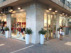 """Punto vendita """"Quore"""" in via Roma, 28 a Pescara in Abruzzo www.quorestore.it #abbigliamentobambino #luxury #moda #franchising"""