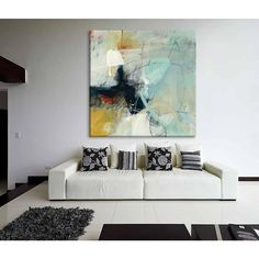 """Clicart 72 in. x 72 in. """"Apex I"""" by CJ Anderson Printed Framed Canvas Wall Art-GWA17667K3 - The Home Depot"""