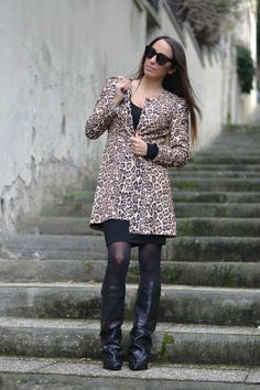 Animalier - Leopard Print - Givenchy inspired boots