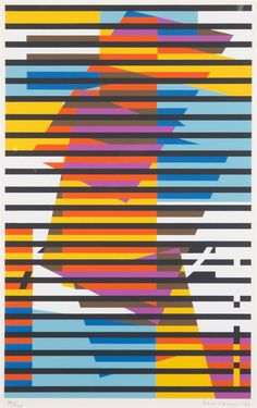 Striped Composition, 1982 by Sam Vanni on Curiator, the world's biggest collaborative art collection. Paint Chip Cards, Composition Art, Digital Museum, Collaborative Art, Art Forms, Art Drawings, Abstract Art, Fine Art, Quilts