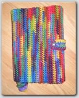 Button Up Book Cover with bookmark - Free Original Patterns - Crochetville