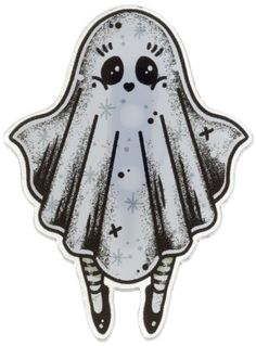 CREEP HEART GHOST GIRL MINI PIN - Sourpuss Clothing