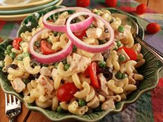 Zesty Chicken Pasta Salad | mrfood.com