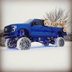 jacked up diesel trucks Custom Lifted Trucks, Lifted Ford Trucks, Cool Trucks, Chevy Trucks, Pickup Trucks, Lifted Chevy, Lifted Jeeps, Lifted Cars, Muddy Trucks