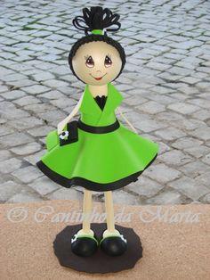 O Cantinho da Marta: Boneca EVA - Patrícia