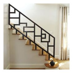 New home designs latest Modern homes iron stairs railing designs If this could be made in wood it woul New home designs latest Modern homes iron stairs railing designs If this could be made in wood it would be great Steel Stair Railing, Staircase Railing Design, Modern Stair Railing, Balcony Railing Design, Home Stairs Design, Staircase Railings, Modern Stairs, House Design, Design 24
