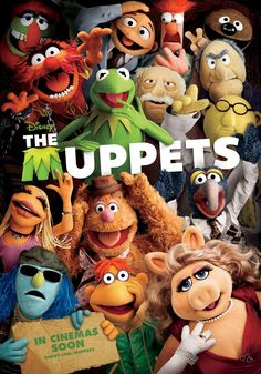 An awesome poster of all your favorite characters from Disney's The Muppets: Kermit the Frog, Miss Piggy, Fozzie Bear, Animal, and many more! Need Poster Mounts. Jim Henson, New Movies, Disney Movies, Good Movies, Muppets Disney, 2020 Movies, Walt Disney, Disney Magic, The Muppets 2011