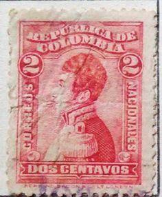 Personajes y motivos colombianos 1917 NARIÑO