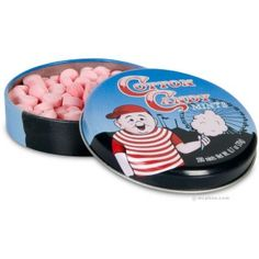 cotton candy mints -- ...so are they cotton candy or mint...? Or both?! Ohmigosh that would be epic!