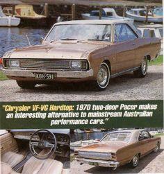 Chrysler Valiant VG Hardtop.