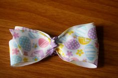 Easter Hair Bow by MariasBowTique on Etsy, $3.75