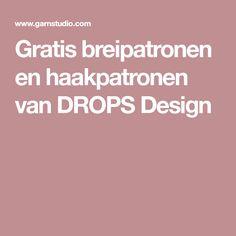 Gratis breipatronen en haakpatronen van DROPS Design Drops Design, Diy And Crafts, Knit Crochet, Knitting Patterns, Om, Chihuahua, Crocheting, Hands, Accessories