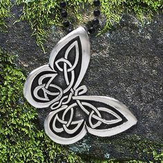 "Celtic Butterfly Necklace - ""Spread your wings"" - Celtic Knot Butterfly Pendant, Celtic Butterfly Pendant Celtic Symbols, Celtic Art, Celtic Knots, Celtic Dragon, Irish Celtic Tattoos, Celtic Knot Tattoo, Mayan Symbols, Egyptian Symbols, Ancient Symbols"