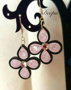 Quilling Earrings by Deepucreations on Etsy