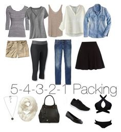 """5-4-3-2-1 Packing"" #packing #minimalist #54321packing"
