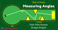 A fun and engaging Geometry Project on Measuring Angles where your student will design a Putt-Putt Course. This project comes with examples and a student edition of the rubric. We also include Measuring Angles Worksheets and much more!
