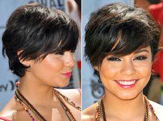 Vanessa Hudgens: 5 cabelos em uma semana! - Beleza - CAPRICHO                                                                                                                                                                                 Mais