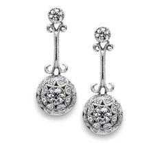 mom or grandma's borrowed earrings.