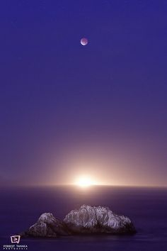 Radiant Selene, hear my plea! Come to this circle, I invite thee! Bull-horned rider of the chariot of night, for honour I call you in this rite, blessed Goddess, our brilliant Moon, bring light upon us, as you are Full! Let your favour flow free, truly so mote it be! - Photo: Lunar Eclipse Into the Light