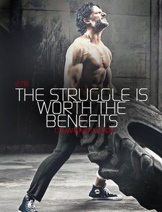 Think about it, tire flips are basically a full body workout! I was flipping a tractor tire back in Texas while on vacation and got lean and toned. Fitness Quotes, Fitness Tips, Health Fitness, Male Fitness, Health Quotes, Motivation Inspiration, Fitness Inspiration, Weight Lifting Quotes, Gym Quote