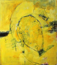 Yellow Untitled Painting | 150x130cm | 59,05x51,18in | acrylic on canvas | 2016 |