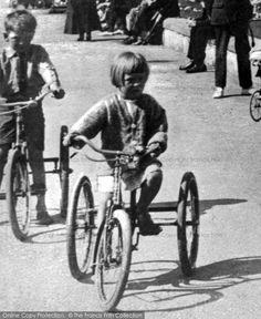 Rhyl, Tricycle c1940