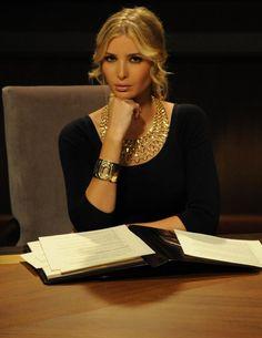 Ivanka in bib necklace