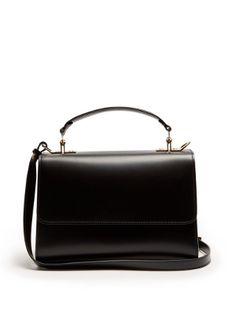 Parker medium leather shoulder bag  | Sophie Hulme | MATCHESFASHION.COM