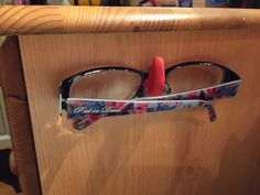 Make a Sugru hook shaped like a nose for your glasses
