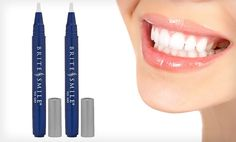 Groupon - $ 6.99 for a 2-Pack of Philips Brite Smile To Go Teeth-Whitening Pens ($ 39.98 List Price). Groupon deal price: $6.99
