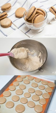 This Coffee Macarons have a nice hint of coffee flavors, No fail, step by step photo recipe!